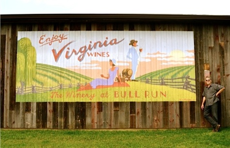 The Barn at the Winery at Bull Run, Centerville, Va., 2012