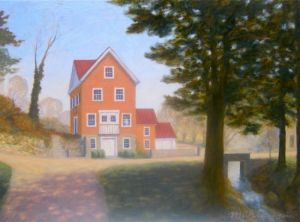 """Maidstone"", 12 x 16"", oil on panel, 2010, available"