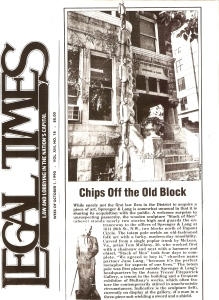 "Legal Times,"" Chips off the Old Block"", May 1992"