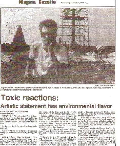 Niagara Gazette 1989