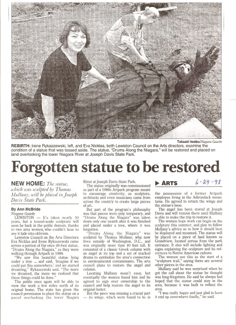 Niagara Gazette, 1998 pg 1
