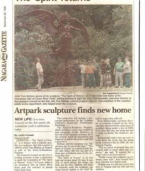 Niagara Gazette 1998