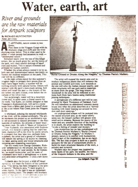 The Buffalo News 1989 pg 1