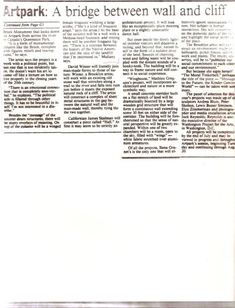 Buffalo News 1989 pg 2