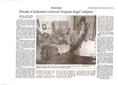 Buffalo news 1989 pg1