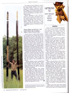 """Museum and Arts, """"""""New Talent: The Hot Shows of Summer"""", July/August, 1987"""