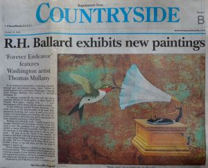 "Rappahannock News, "" R. H. Ballard exhibits new paintings, Forever Endeavor"", Oct 2006"