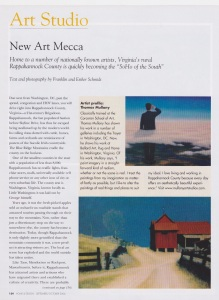 """Home and Design, """"New Art Mecca"""", by Franklin and Esther Schmidt, Fall, 2006"""