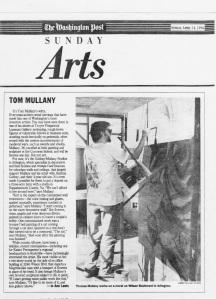 """Washington Post """"Arts"""", by Jo Ann Lewis, April, 1996"""